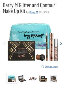 Barry M bundles PLUS 20% off code at Argos - E.g Glitter & Contour set is £14.99 at Argos (£11.99 with code)