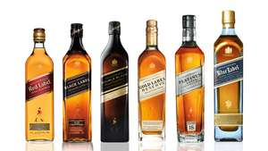Record low prices for Johnnie Walker whiskies - Red £15, Black £20, Double Black £25 at Asda, Gold £30 at Morrison's
