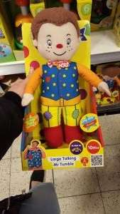 talking mr tumble - should be national £2.99 @ Home Bargains