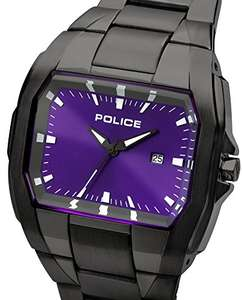 Police Men's Quartz Watch - Purple/Gun Metal - £36.51 @ Amazon