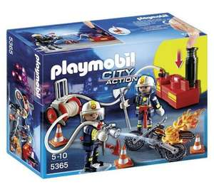 Playmobil 5365 City Action Firefighter with Pump £9.99 @ Argos