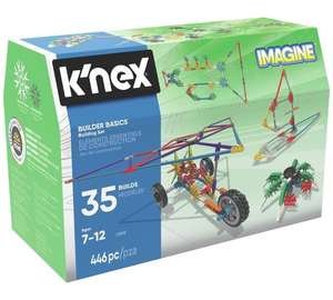 K'NEX Imagine Builders Basics 35 Model Building Set half price down to £13.99 at Argos