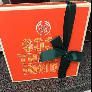 Body shop extra 40 percent off sale gift sets instore