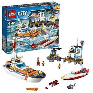 LEGO 60167 Coast Guard Head Quarters Construction Toy £55.99 on Amazon