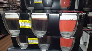 Bodum set of 6 glass mugs £4.50 @ Tesco Wigan