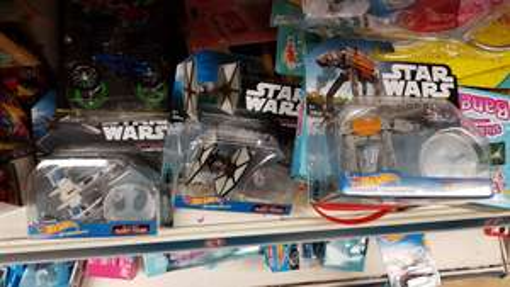 Hotwheels Star Wars space ships £1 @ Poundland Stratford