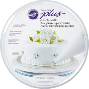 Wilton trim n turn plus cake turntable £4.99 @TkMaxx