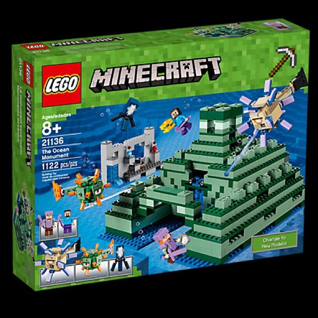 Lego Minecraft Ocean Monument £73.99 @ Amazon