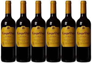 Campo Viejo Rioja Wine Case of 6 on Amazon for £25.02 (£4.17 a bottle)