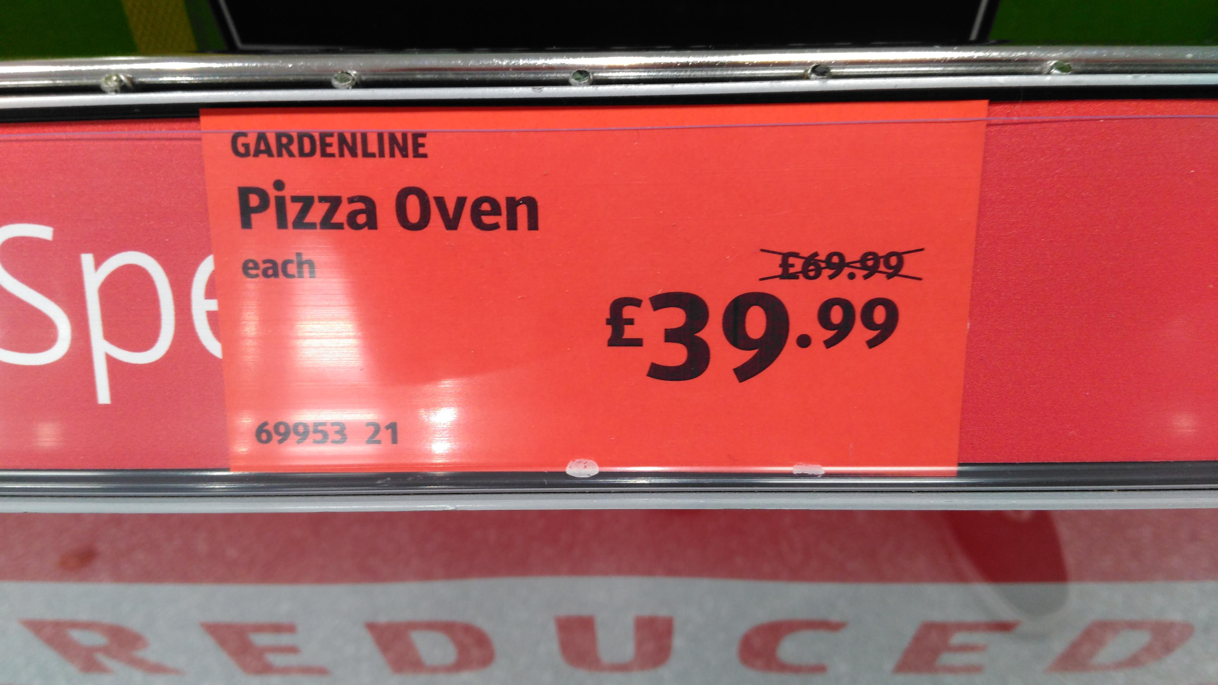 Aldi Pizza Oven £39.99 - Charlton