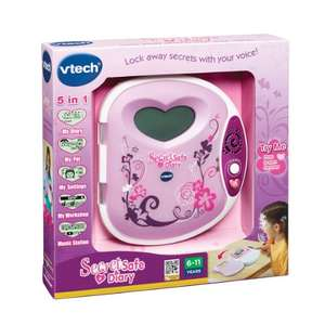 VTech Secret Safe Diary £12.71 Prime / £17.46 Non Prime @ Amazon