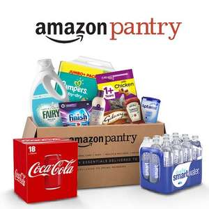 £5 off your first £30 spend at Amazon Pantry