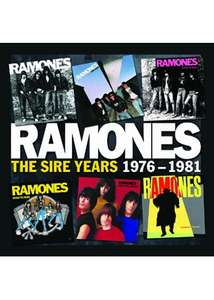 Ramones - Sire Years 1976-1981 : Remastered (6 CD Box set with MP3's) £14.68 @ Amazon
