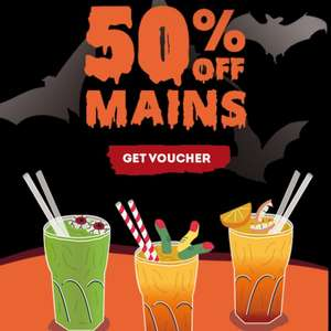 Frankie & Benny's 50% off mains until 12th November with printable voucher