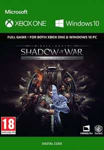 Middle-Earth: Shadow of War Silver Edition Xbox One / PC only £4.99 @ CDKeys