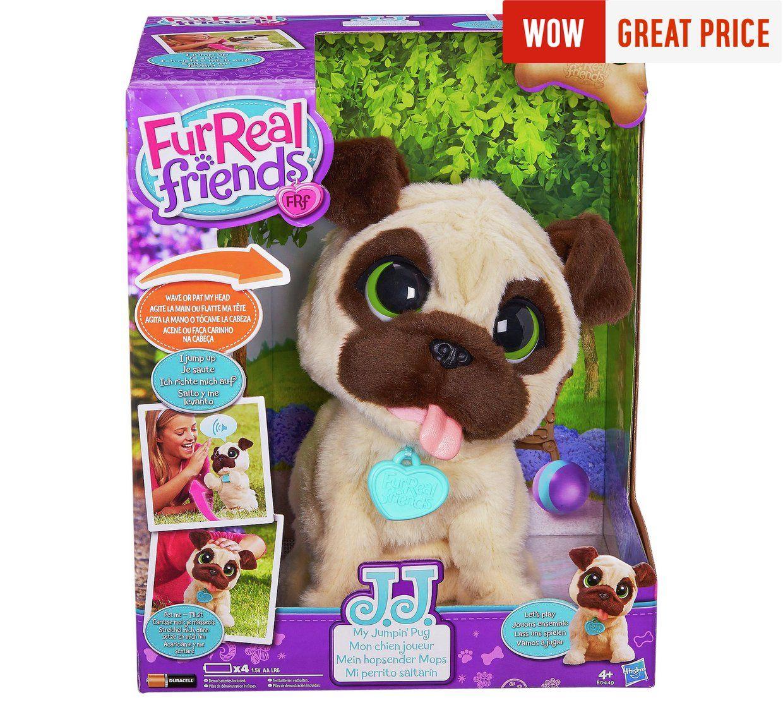 FurReal JJ My Jumping Pug Pet at Argos 24.99
