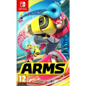 Arms Nintendo Switch £34.95, The Game Collection