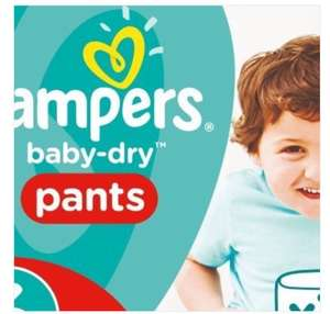 Pampers Baby-Dry Pants Size 6 £3.98 @Superdrug was 7.99