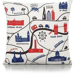 London landmarks/map cushion £4 @ Asda / George