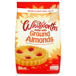 Whitworths Ground Almonds 150G - 2 for £2.00 @ Tesco