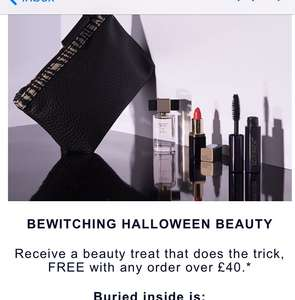 Free Beauty Treat by Estée Lauder When you Spend £40 (w/code) @ Estée Lauder