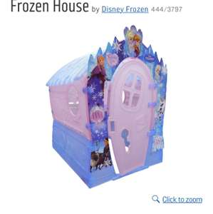 Disney Frozen Play House half price £49.99 at Argos