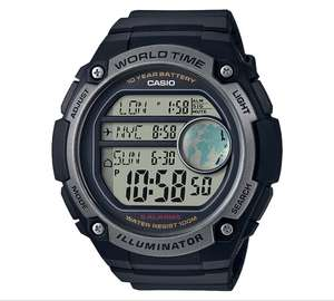 Casio Men's World Time Digital Watch @ £22.49 Argos was 44.99