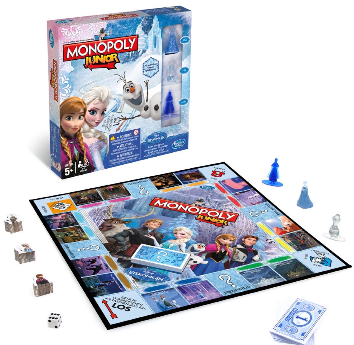 Disney Frozen Monopoly Junior £6 instore / online @ The Entertainer (Free C+C wys £10)