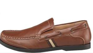 Mad Wax Mens Slip On Shoes Brown £12.99 + £4.49 Del @ MandMdirect was £39.99