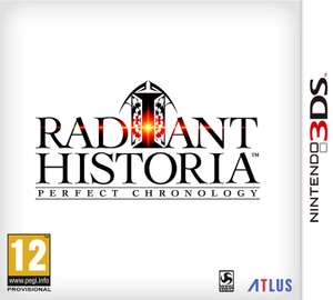 Radiant Historia Perfect Chronology for the 3ds/2ds £27.99 @ Argos (pre order)