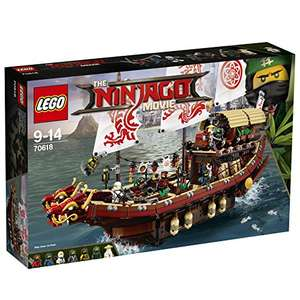 LEGO Ninjago Movie 70618 Destiny's Bounty Toy 93.99 Amazon Prime