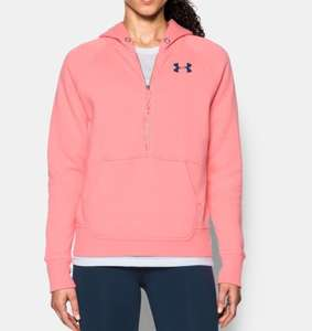 under armour women hoodie £20.10 or £16.08 using Unidays code + Free Del + topcashback