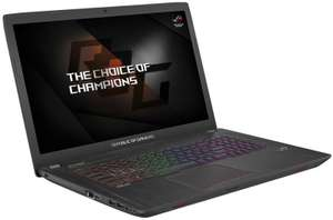 ASUS ROG Strix GL753 Gaming Laptop - £799.98 @ Ebuyer
