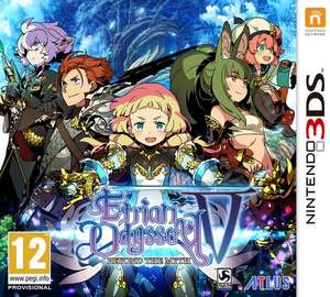 Etrian Odyssey V: Beyond the Myth for the 3ds/2ds @ Base £27.85