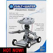 Salt Powered build your own robot £3 free C&C @ The Works
