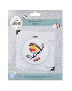 So Crafty Christmas Cross Stitch Kits (Includes A Unicorn Kit) £2.99 Delivered @ Aldi [Pre Order Online Now Or Instore From 5/11]