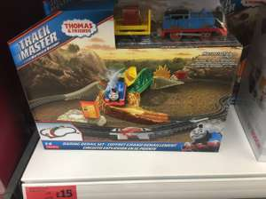 Thomas & friends track master reduced to £15 instore @ Sainsbury's (cheshire oaks