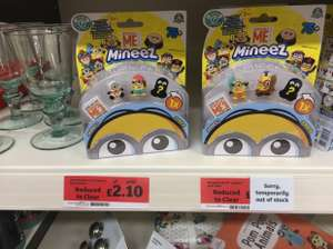Despicable me mineez reduced to £2.10 @ Sainsbury's - Cheshire oaks