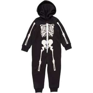 Nutmeg Skeleton Onesie 2-9 years Half Price £5 @ Morrisons Online only