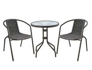 2-Seater Metal Garden Patio Bistro Set £25.49 using code @ Robert Dyas (Free C&C)