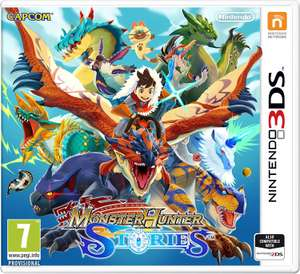 Monster Hunter Stories for the 3ds/2ds £24.85 @ shopto