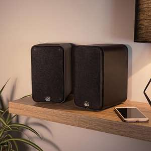 Kitsound - Accomplice Bookshelf Speakers (Bluetooth or Wired) £35.99 delivered (Using code) @ Kitsound