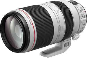 CANON 100-400mm f/4.5-5.6L IS II USM Lens £1574 (you can claim £215 canon cashback) @ AMAZON