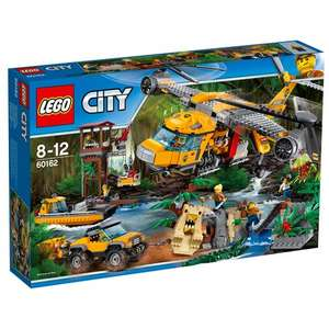 LEGO 60162 City Jungle Air Drop Helicopter set £81.99 (Free Del or C&C) @ Smyths (Using code)
