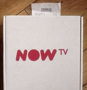 Now TV box with 3 month entertainment pass £14 @  Tesco Helsby