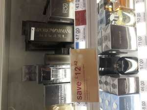 Emporio Armani He 100ml for only £27.57 in Boots Slough Bath Road