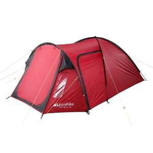 Brilliant tent less than half price e.g EUROHIKE  Avon Deluxe Tent £50 @ Millets £1 c&c