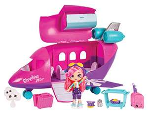 Shopkins Shoppies Skyanna's Jet Playset - £36.30 Amazon