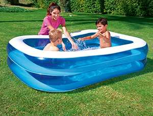 Bestway Rectangular Inflatable Family Pool (79 inch,Blue) - was £29.99 now £5.91 (Prime) / 10.66 (Non Prime) @ Amazon