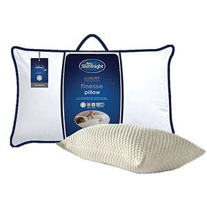 Silentnight Finesse Pillow, Soft/Medium £11.48 w/out prime / £7.49 and free delivery w/prime @ Amazon